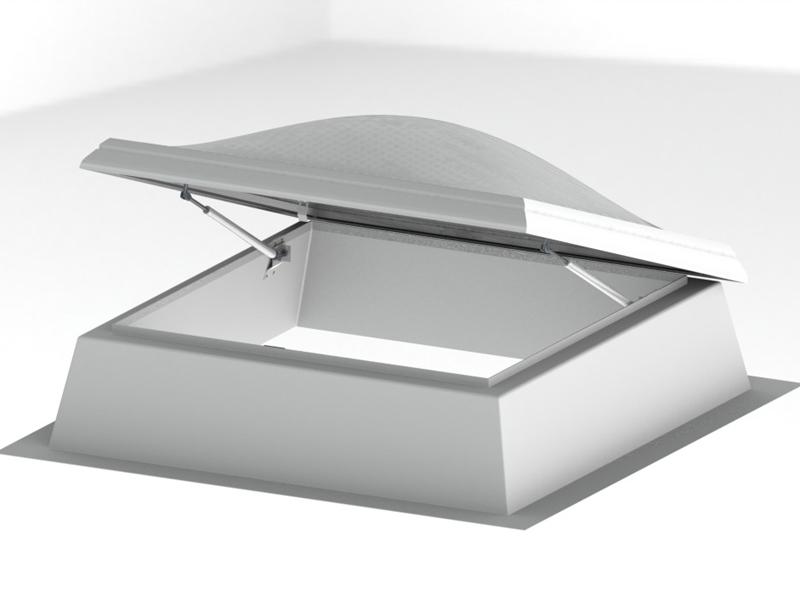 Świetlik dachowy kopułkowy